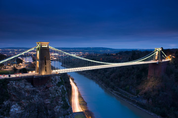 Clifton Suspension Bridge, Bristol ,England