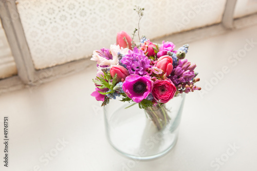 spring flower decoration