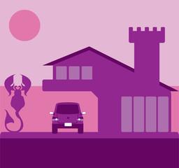 Scorpion House