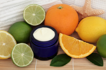 Citrus Fruit Spa