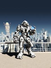 Alien Battle Droid - City Watch