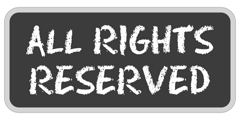 Sticker TF eckig oc ALL RIGHTS RESERVED