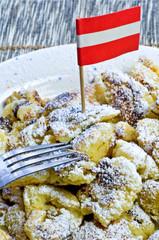 Spezialität aus Österreich Kaiserschmarn
