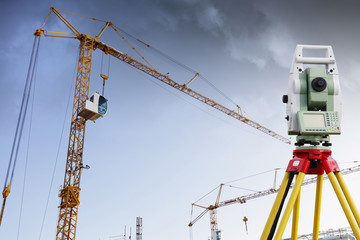 surveying measuring instrument and construction industry