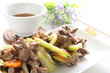 chinese cuisine, gizzard and celery stir fried