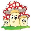 Mushroom theme image 1