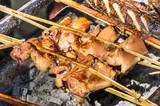 Roasted Chicken Skewers - Laos Style