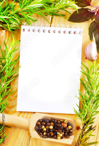 note and aroma spice