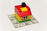 Money and lego house poster