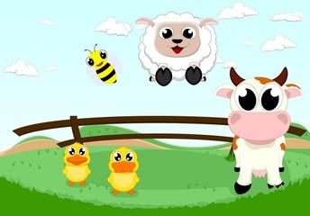 farm animal set