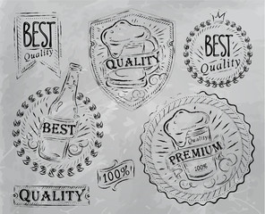 Beer Quality elements gray