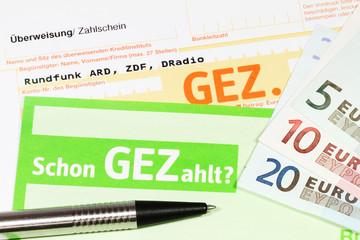 GEZ-Gebühren