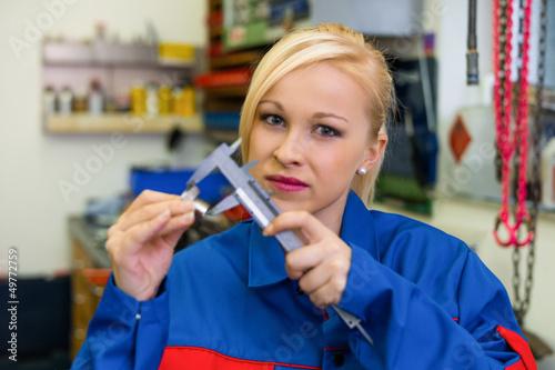 Lehrling in der Metallbranche