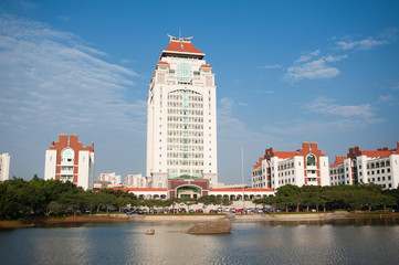 landscape of  Xiamen University
