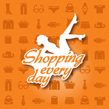 shopping every day
