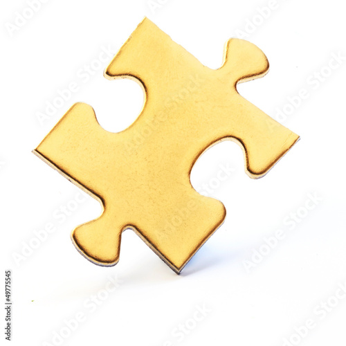 Jig Saw Puzzle - One Golden Piece