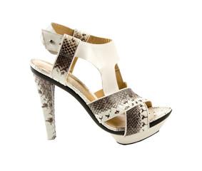 Python sandal stiletto