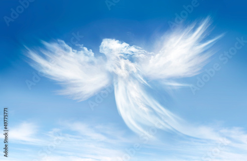 Angel in the clouds - 49775771