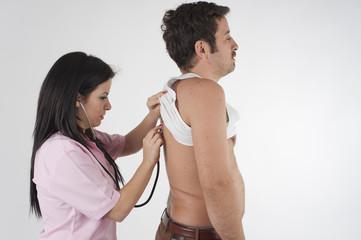 nurse auscultation