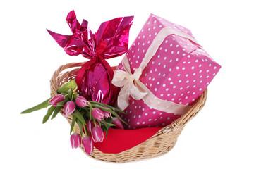 Präsentkorb - Geburtstag - Ostern - Easter birthday gift