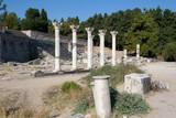 Kos, corinthian colums of Asclepion temple - Greece poster