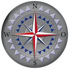 Kompass, Navigation, Himmelsrichtung, Erde, Globus, Button