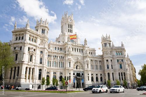 Foto Spatwand Madrid City Hall, Madrid