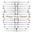 Set of calligraphic design elements .eps10