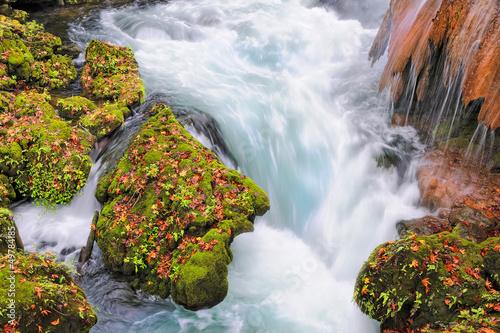 Fototapeten,sturzbach,cascade,wasserfall,felsen