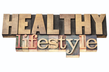 healthy lifestyle in wood type