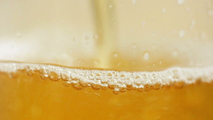 Beer, close up