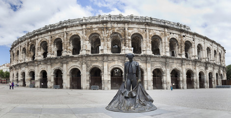 Amfiteatro de Nimes (Plaza de Toros) Provenza,Francia.