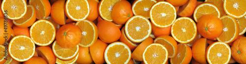 fototapeta na ścianę Pomarańcze-połówki 2