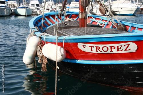 Papiers peints Voile Boat St Tropez