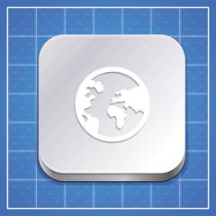 Vector app icon template