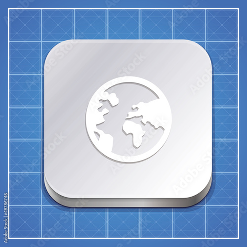 Vector app icon template