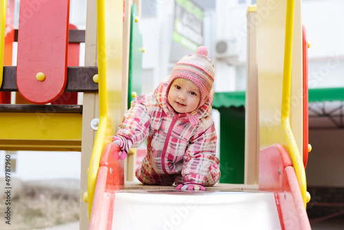 girl on the playground