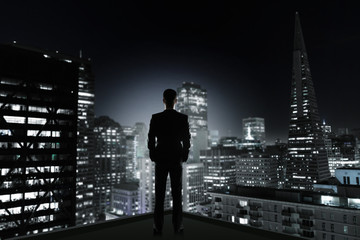 man and night city