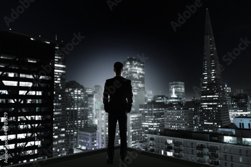 man and night city
