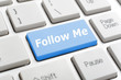 Follow me on keyboard