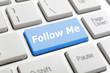Follow me on keyboard
