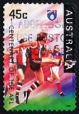 Postage stamp Australia 1996 St. Kilda Saints, Football Team poster