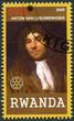 RWANDA - 2009: shows Antonie van Leeuwenhoek (1632-1723)