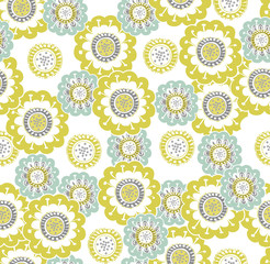 Children's floral pattern