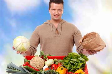 frisches gemüse verkaufen
