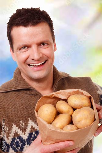frische kartoffeln im angebot