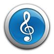 musique clef de sol sur bouton bleu