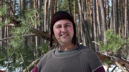 forester, woodman -portrait