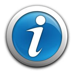 informations sur bouton bleu