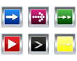 Icons depicting the white arrows